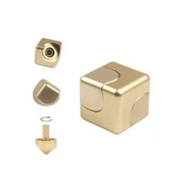 Hliníková kocka Spinner - Zlatá