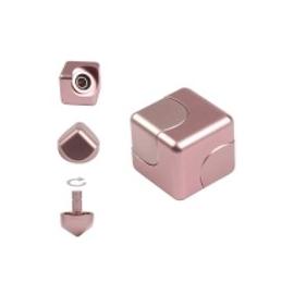 Hliníková kocka Spinner - Ružová