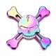 Hlinikový Farebný spinner Lebka