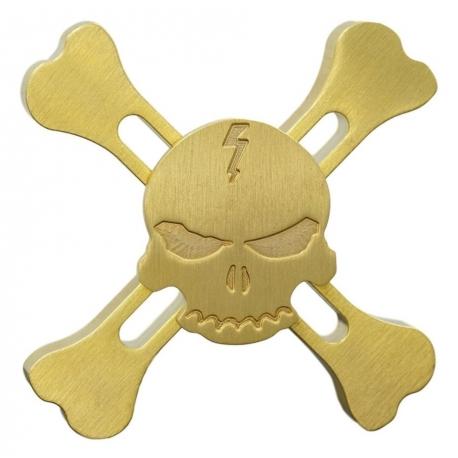 fidget SpinnerZlatá Lebka