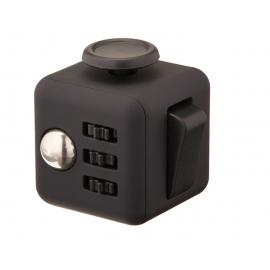 Fidget Kocka - čierna